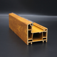 Flügel 60mm Extrusion UPVC Profile Series